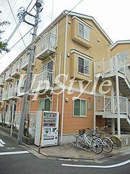 東京都荒川区東尾久2の賃貸アパートの外観