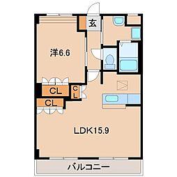 プランドールM&N[1階]の間取り
