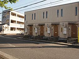 滋賀県湖南市岩根中央2丁目の賃貸アパートの外観