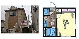 リーヴェルポート戸塚II[2階]の間取り