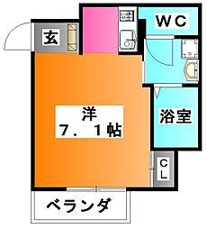 東京都板橋区志村1の賃貸マンションの間取り