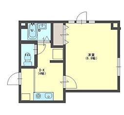BellHKビル(ベルエイチケービル)[3階]の間取り
