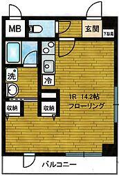 ヴィラサンローズ[3階]の間取り