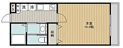 SAKASU AZABU[302号室]の間取り