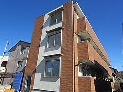 千葉県千葉市稲毛区轟町1丁目の賃貸アパートの外観