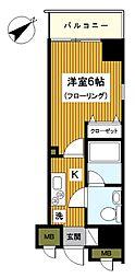 横浜コーヨー十番館[1003号室]の間取り