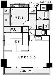 ポルト堺1[3階]の間取り