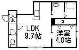 ark[106号室]の間取り