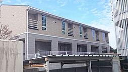 富山県富山市茶屋町字中ノ間の賃貸アパートの外観