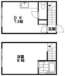 JPコート美園III[2階]の間取り