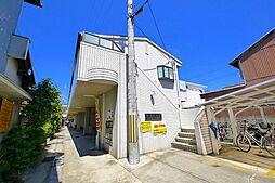 奈良県奈良市大安寺4丁目の賃貸アパートの外観