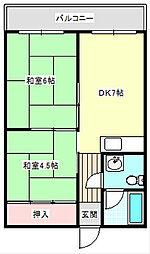 メゾンイノウエ[407号室]の間取り