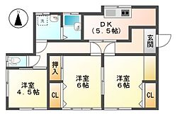 [一戸建] 長野県長野市大字高田 の賃貸【/】の間取り