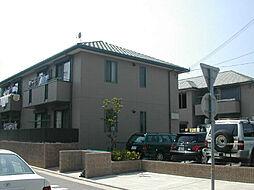 兵庫県西宮市弓場町の賃貸アパートの外観