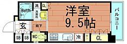 FLat北堀江[9階]の間取り