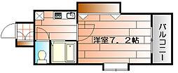 アクス敷島21[505号室]の間取り