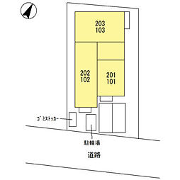 (仮)宮原町3丁目D-room新築工事[102号室]の外観
