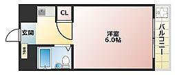 美章園中村ビル[403号室]の間取り
