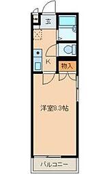 第2マンション菜の花[2階]の間取り