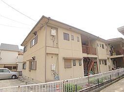 兵庫県宝塚市小浜4丁目の賃貸アパートの外観