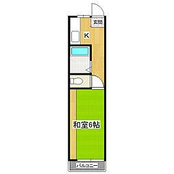 フォルトナート[2階]の間取り