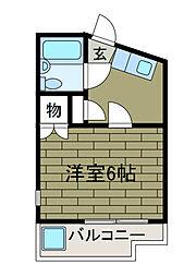 ノーブル新百合ヶ丘[2階]の間取り