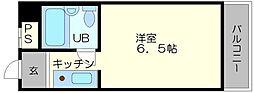 OMレジデンス上新庄駅前[3階]の間取り
