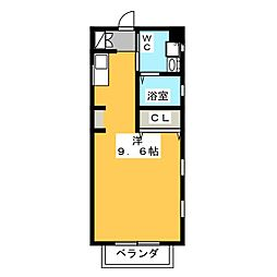 A HOUSE[2階]の間取り