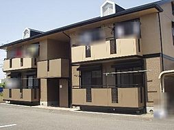 群馬県高崎市倉賀野町の賃貸アパートの外観