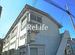 東京都小平市小川町の賃貸アパートの外観