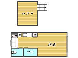 プラチナテラス椎名町[1階]の間取り
