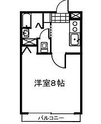 アグレアーブル28[2階]の間取り