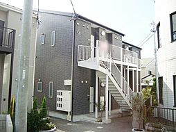 神奈川県平塚市上平塚の賃貸アパートの外観