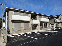栃木県佐野市茂呂山町の賃貸アパートの外観