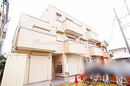 神奈川県平塚市平塚2丁目の賃貸アパートの外観