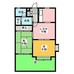 麗乃郷[1階]の間取り