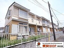 千葉県習志野市谷津5の賃貸アパートの外観