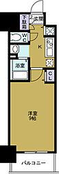 ララプレイス大阪West Prime[6階]の間取り