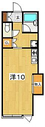大町ハウス[106号室号室]の間取り