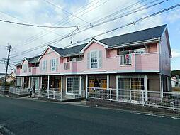 福岡県中間市東中間2丁目の賃貸アパートの外観