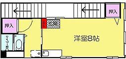 SOPHIA URAKAMI[2F号室]の間取り