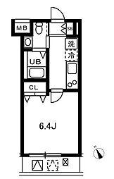 CORE(プラスコア)[4階]の間取り