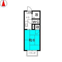 サンビレッジ II[2階]の間取り