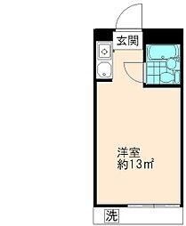 程久保マンション[2階]の間取り