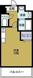 メゾンシャクティー[2階]の間取り