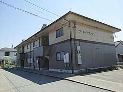 富山県富山市中川原の賃貸アパートの外観