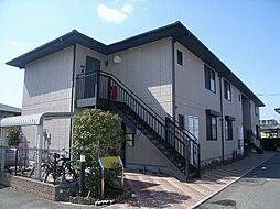 福岡県糟屋郡粕屋町長者原東2丁目の賃貸アパートの外観