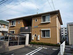 広島県広島市安佐南区川内6丁目の賃貸アパートの外観