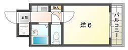 高栄マンション[3階]の間取り