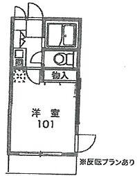 彩華I[103号室]の間取り